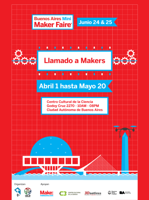 Llamada a Makers - MMFBA16